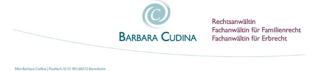 Rechtsanwältin Barbara Cudina